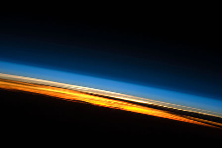 File:Sunset from the ISS.JPG